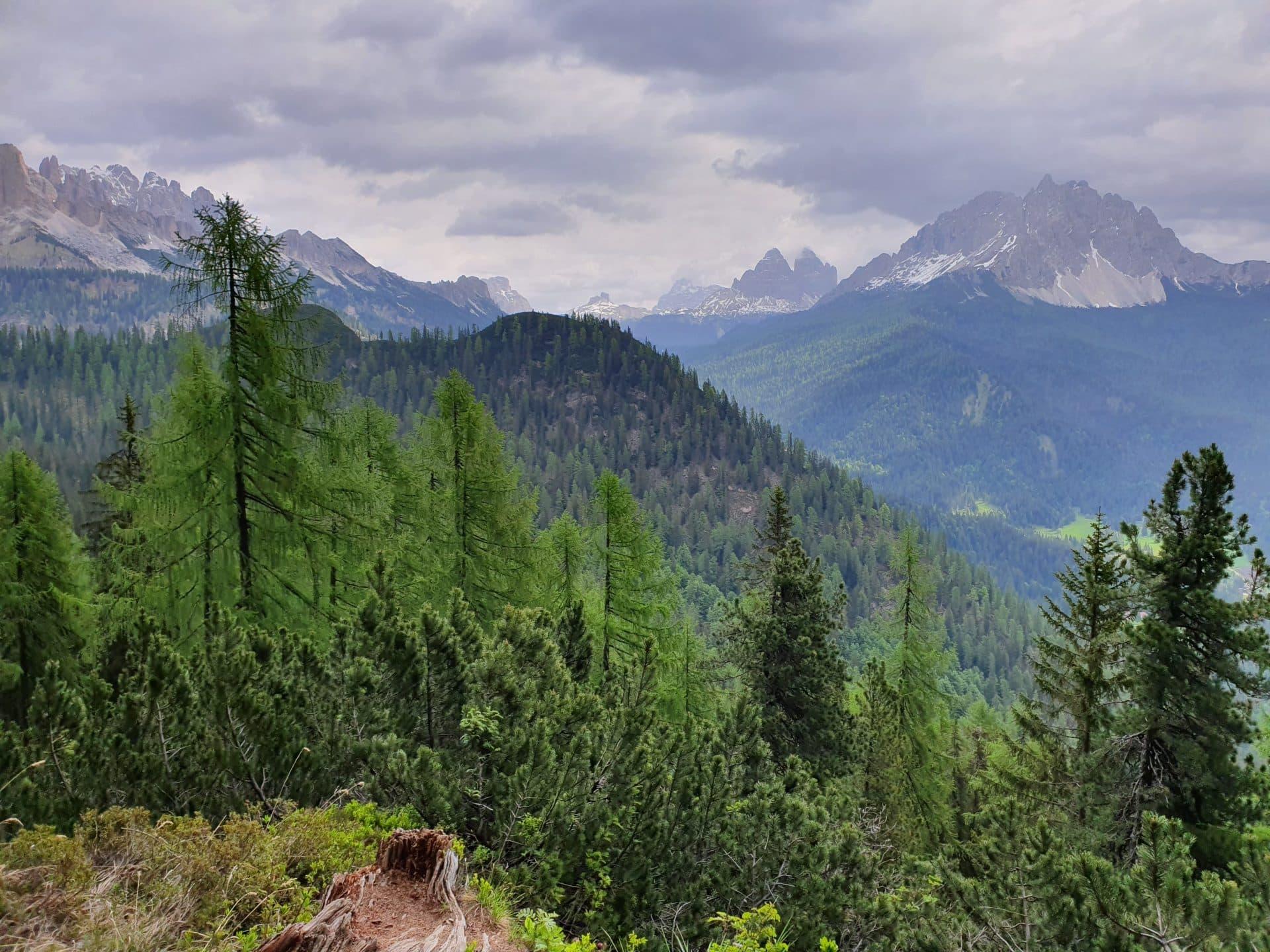 Panorama Lago di Sorapis
