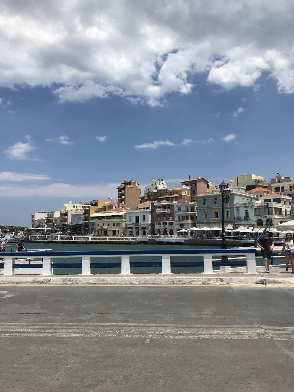 Aghios Nikolaos lune de miel en crete