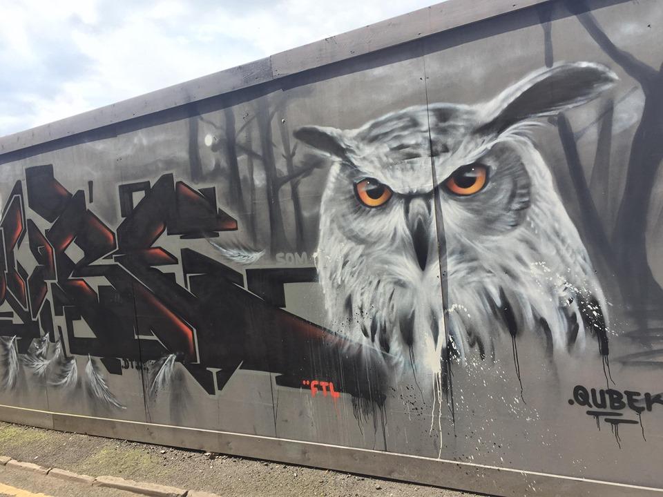 street art chouette manchester