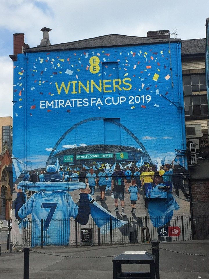 street art emirates fa cup manchester