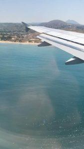 avion crete grece