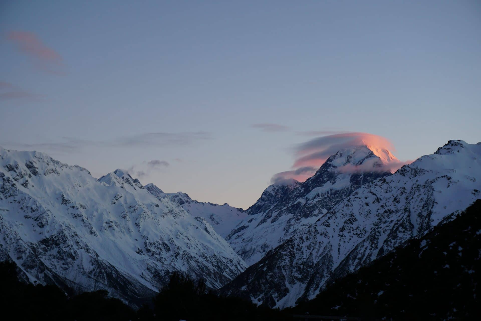 Mount Cook pvt nouvelle Zélande