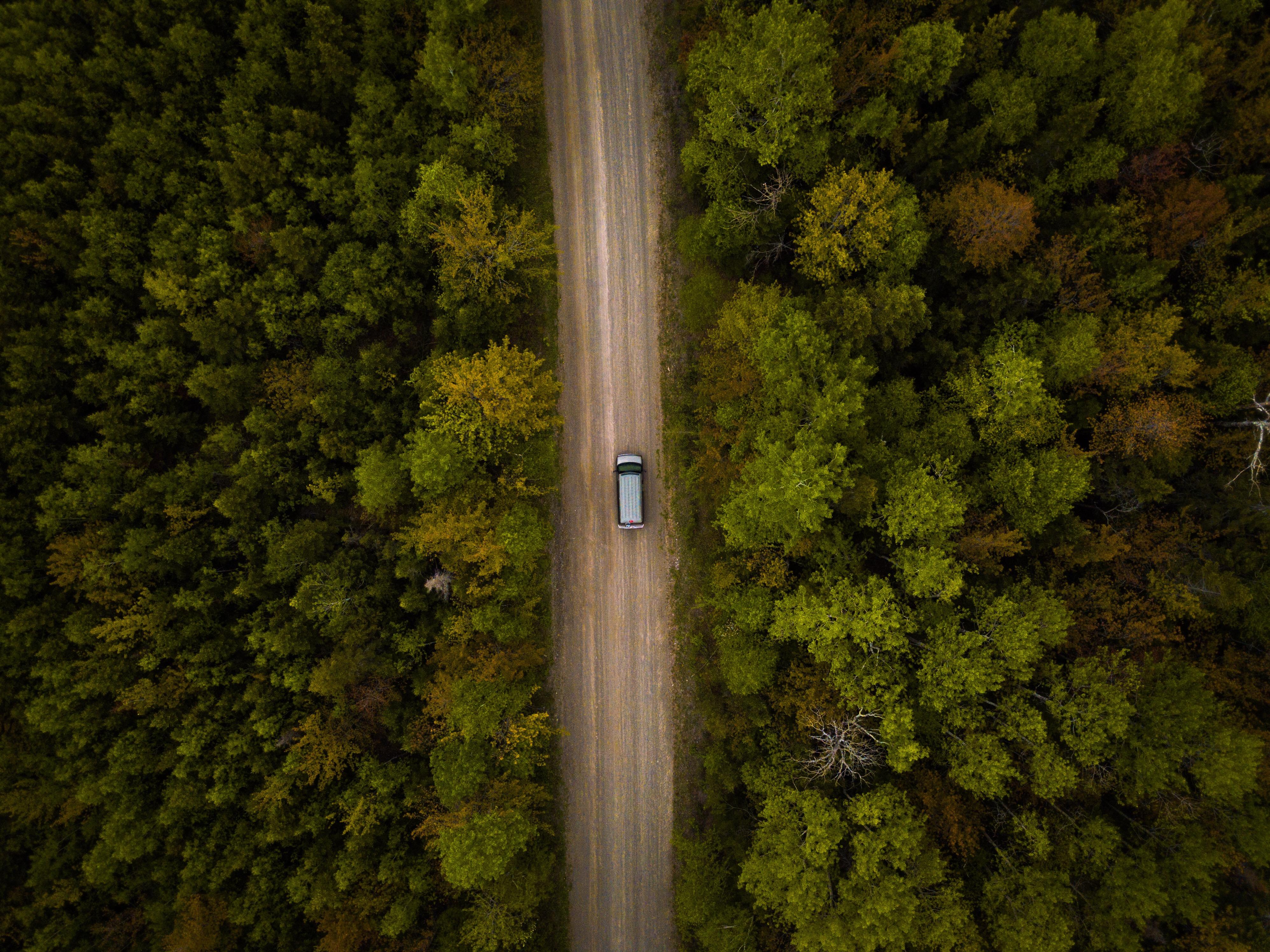van route canada drone