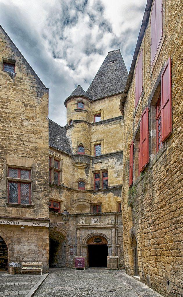 Sarlat Dordogne rues moyen age