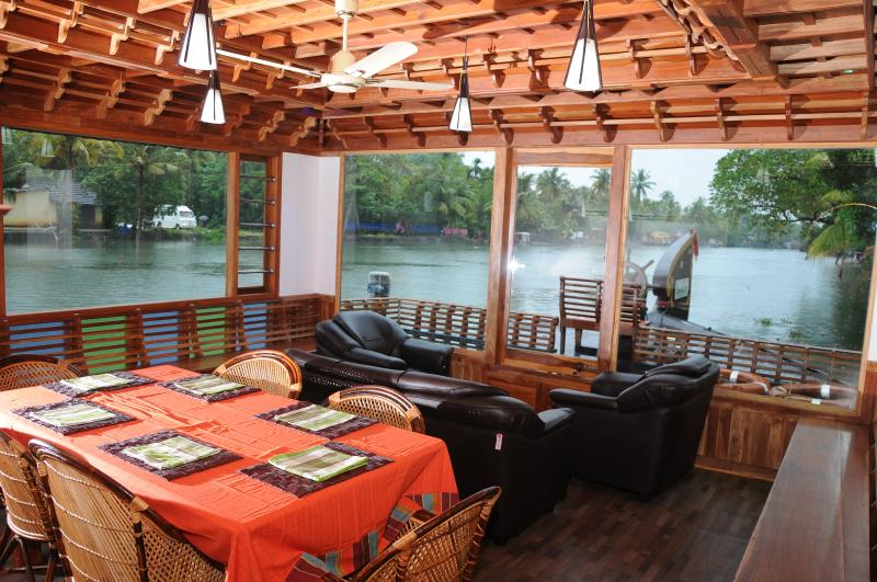 house boat carnet de voyage inde