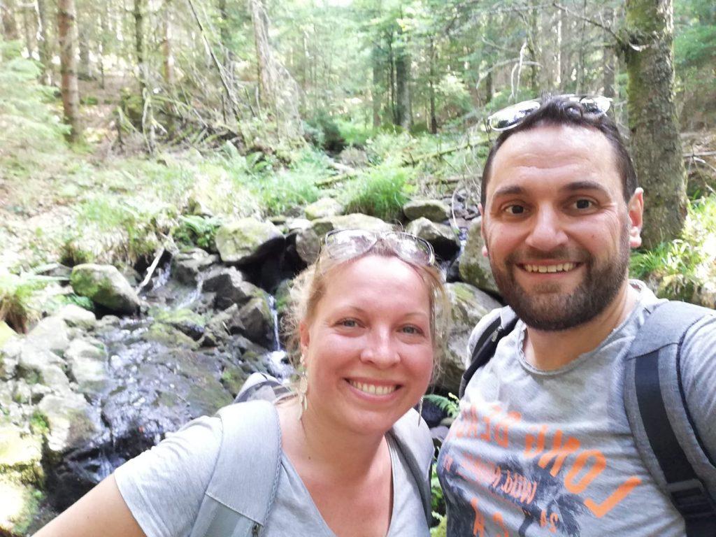 Selfie randonnée lac du Forlet