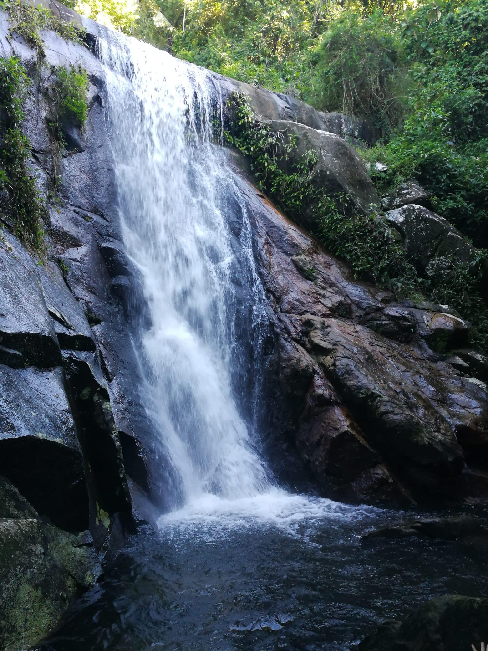 randonnée cascades Ilha Grande