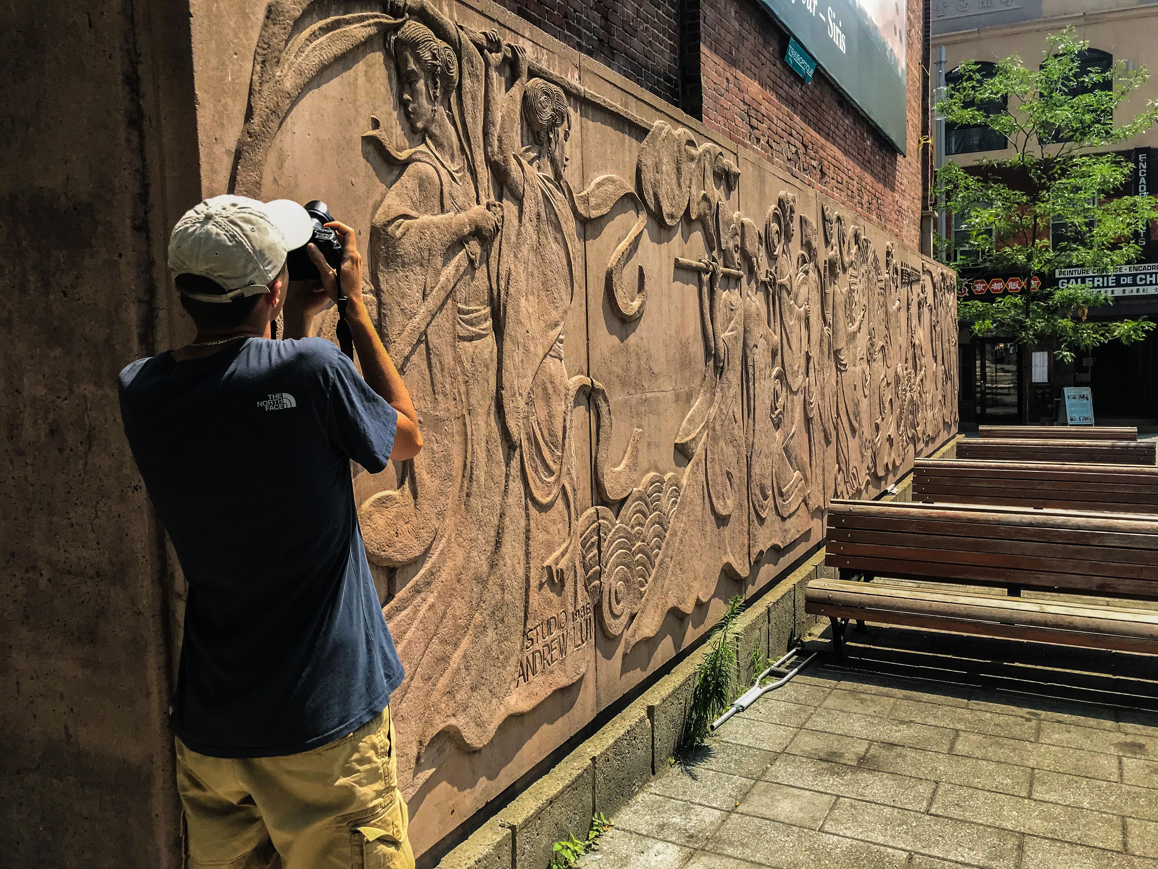 visiter montreal fresque
