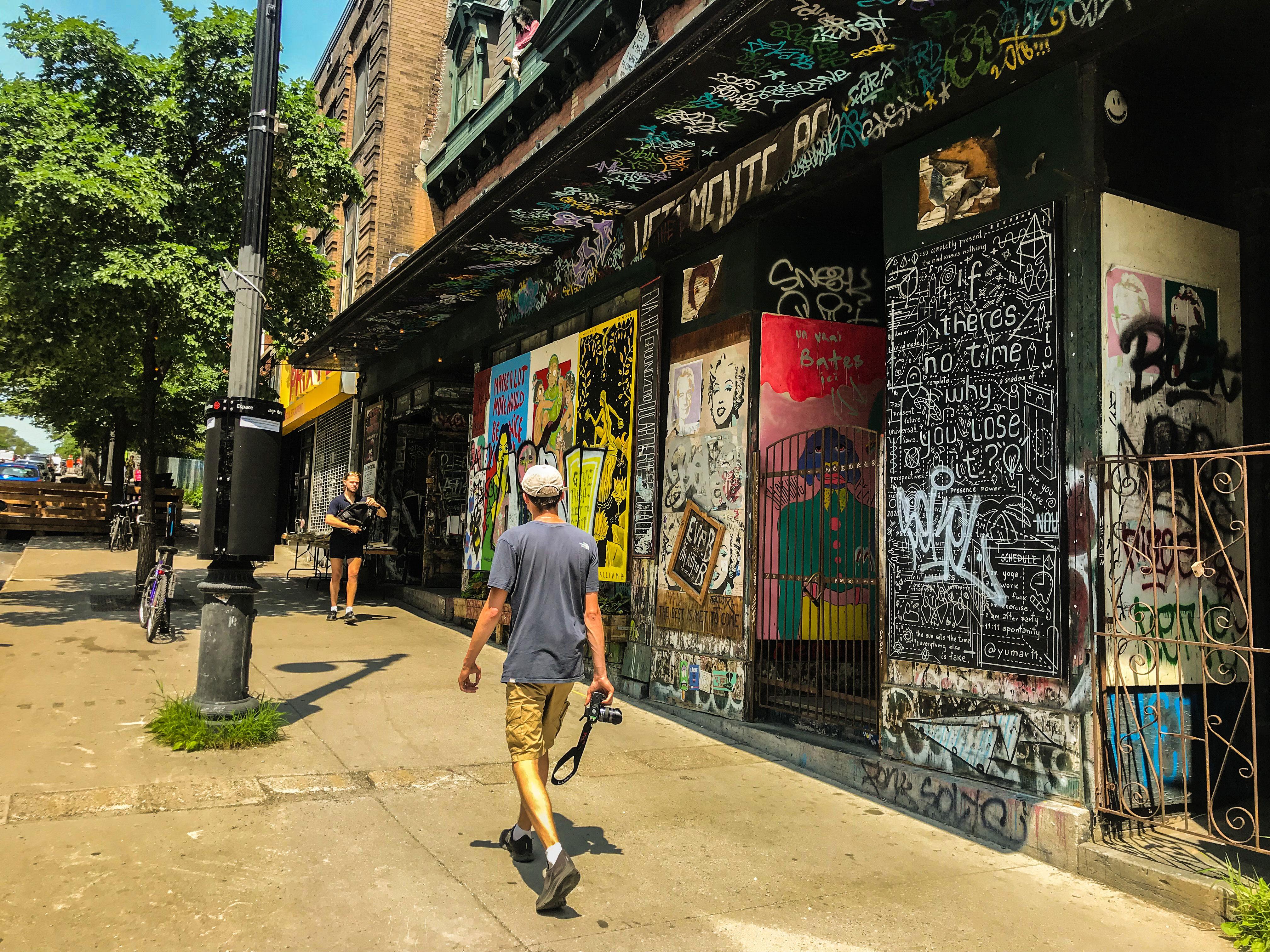 visiter montreal rues