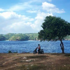 Panorama Indonesie Nusa Scooter