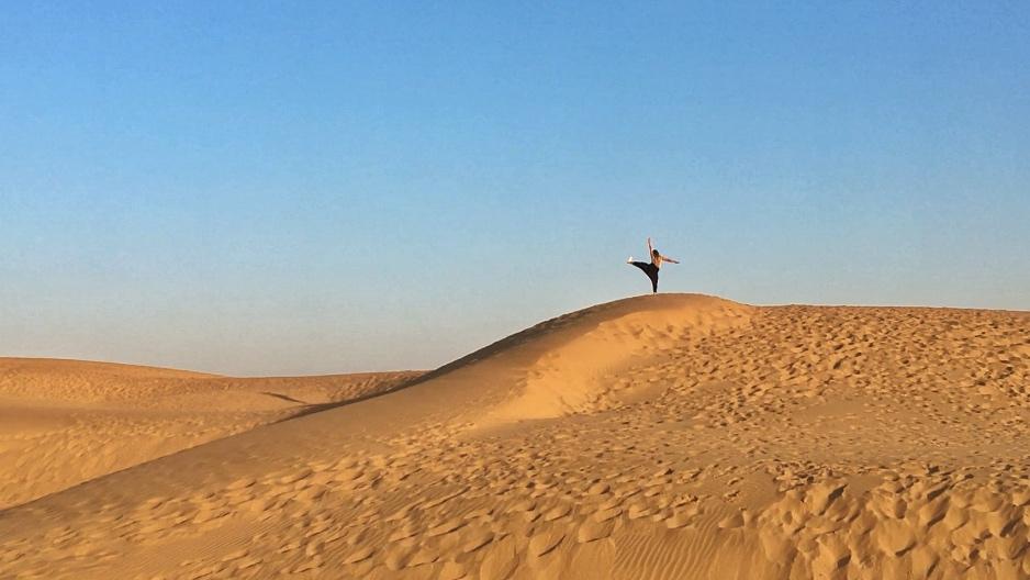 Désert de jaisalmer en Inde