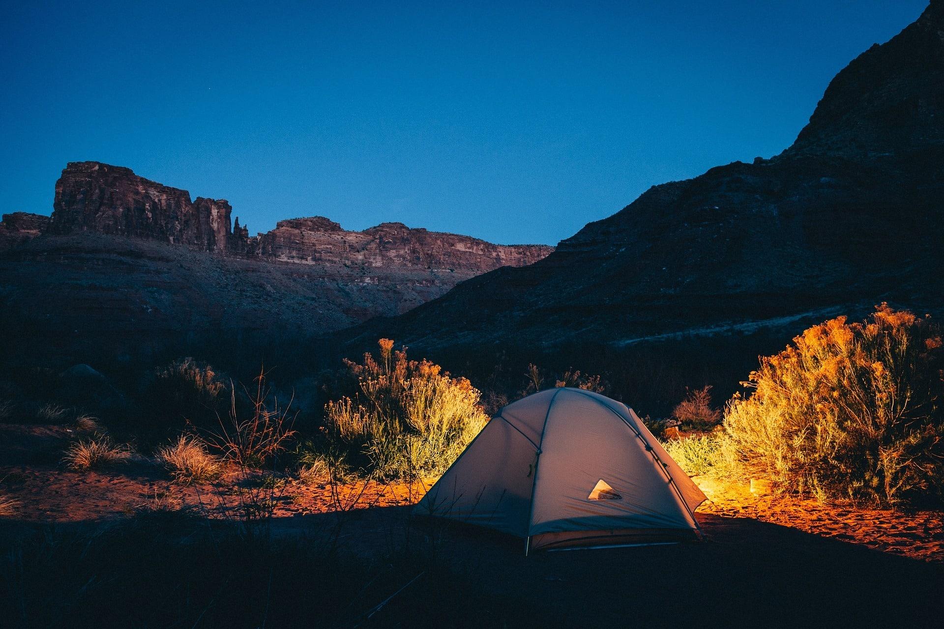 Camping en road trip