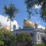 mosquée à brunei visiter