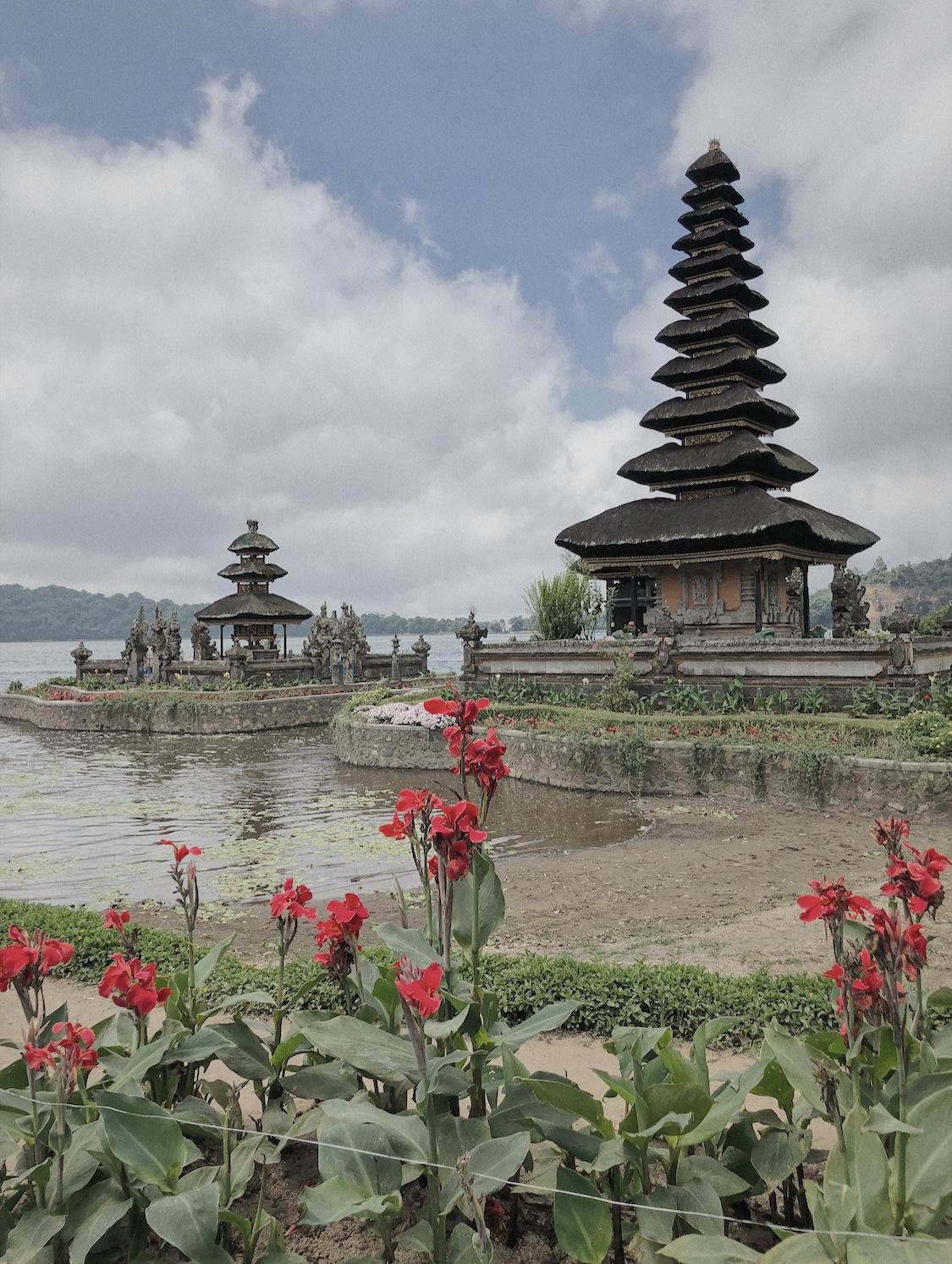 Le temple Ulun Danu Beratan