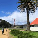san francisco lieux d'intérêt Golden Gate Bridge Vue intérieur