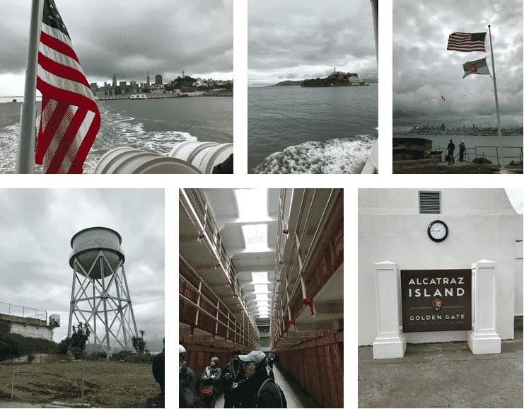 San francisco lieux d'intérêt alcatraz prison