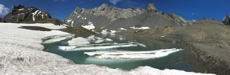 Tour de la Dent de Chamosentse – Alpes Suisses