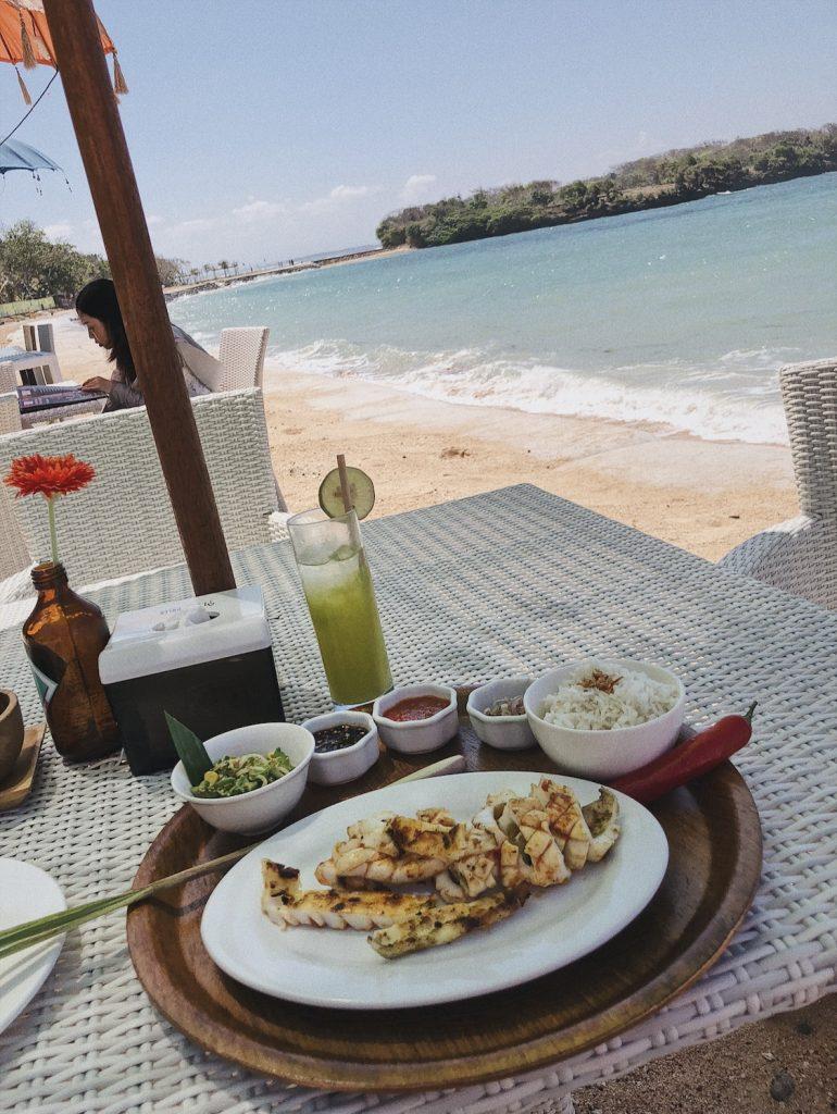 Restaurant plage Nusa Dua
