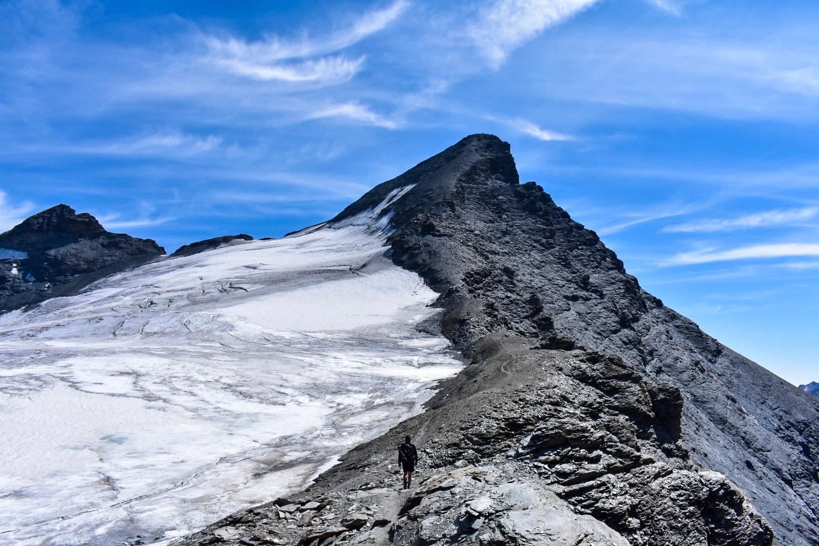 Randonnée vers l'Aiguille de la Grande Sassière – Savoie, Alpes