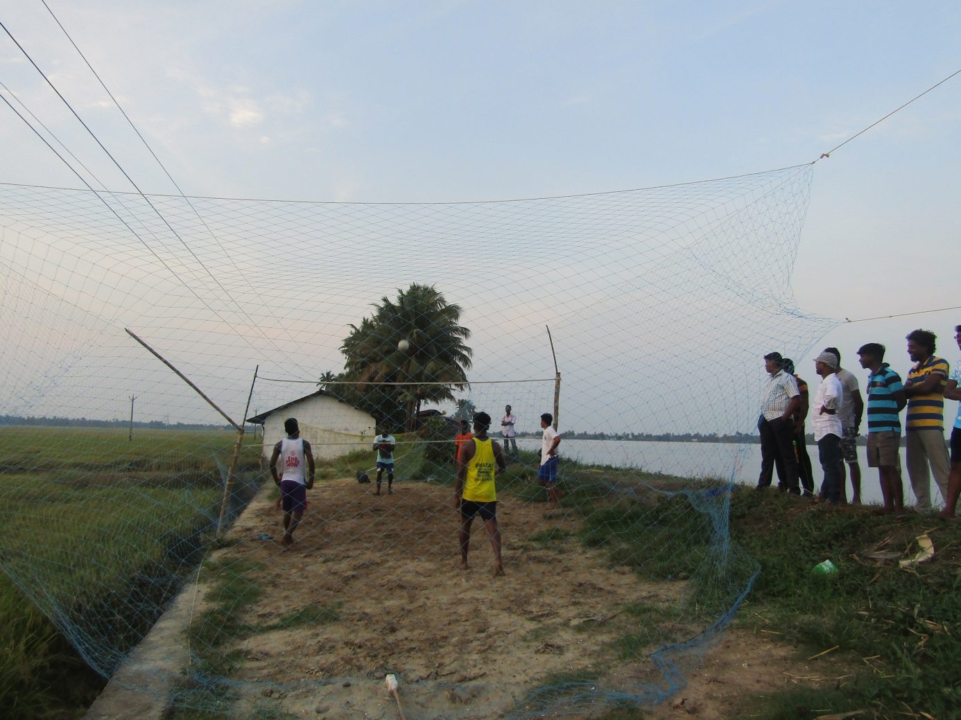volley ball inde allepey