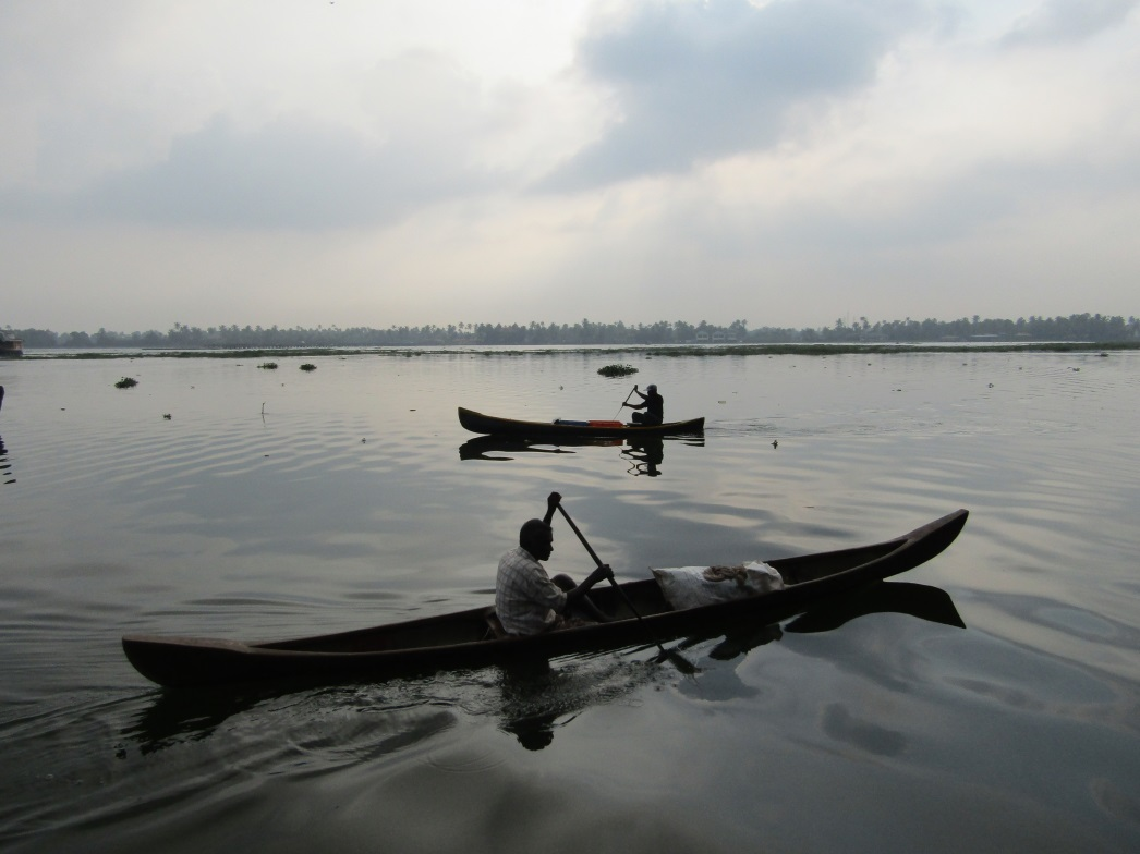 bateaux allepey road trip inde