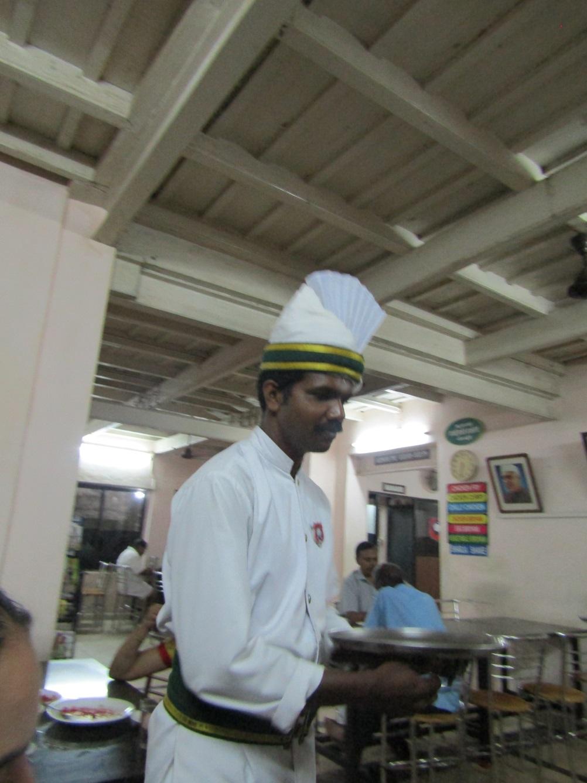 serveur indien road trip inde