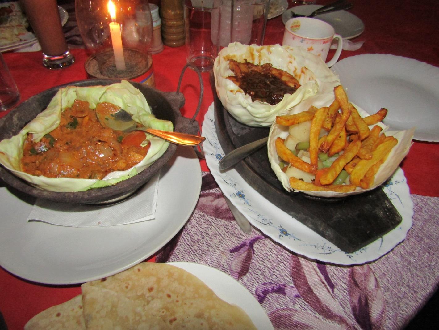 repas inde road trip spécialités