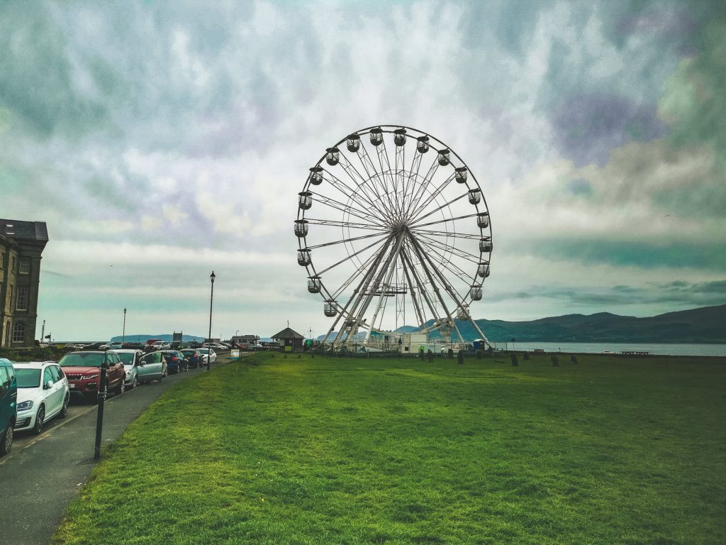 Snowdonia National park beaumaris grande roue