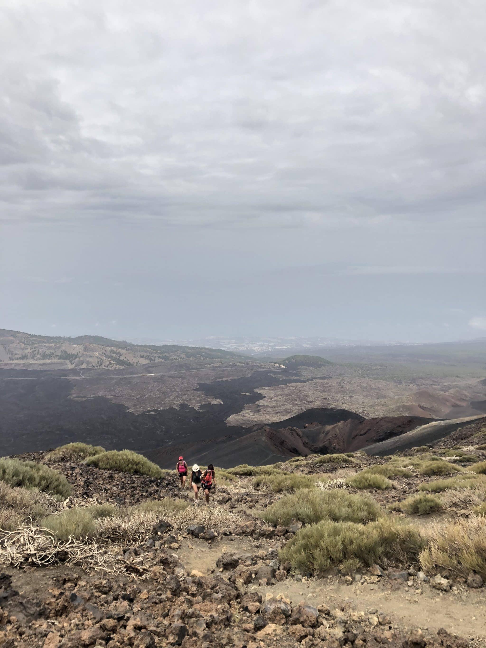 Randonnée parc national du teide