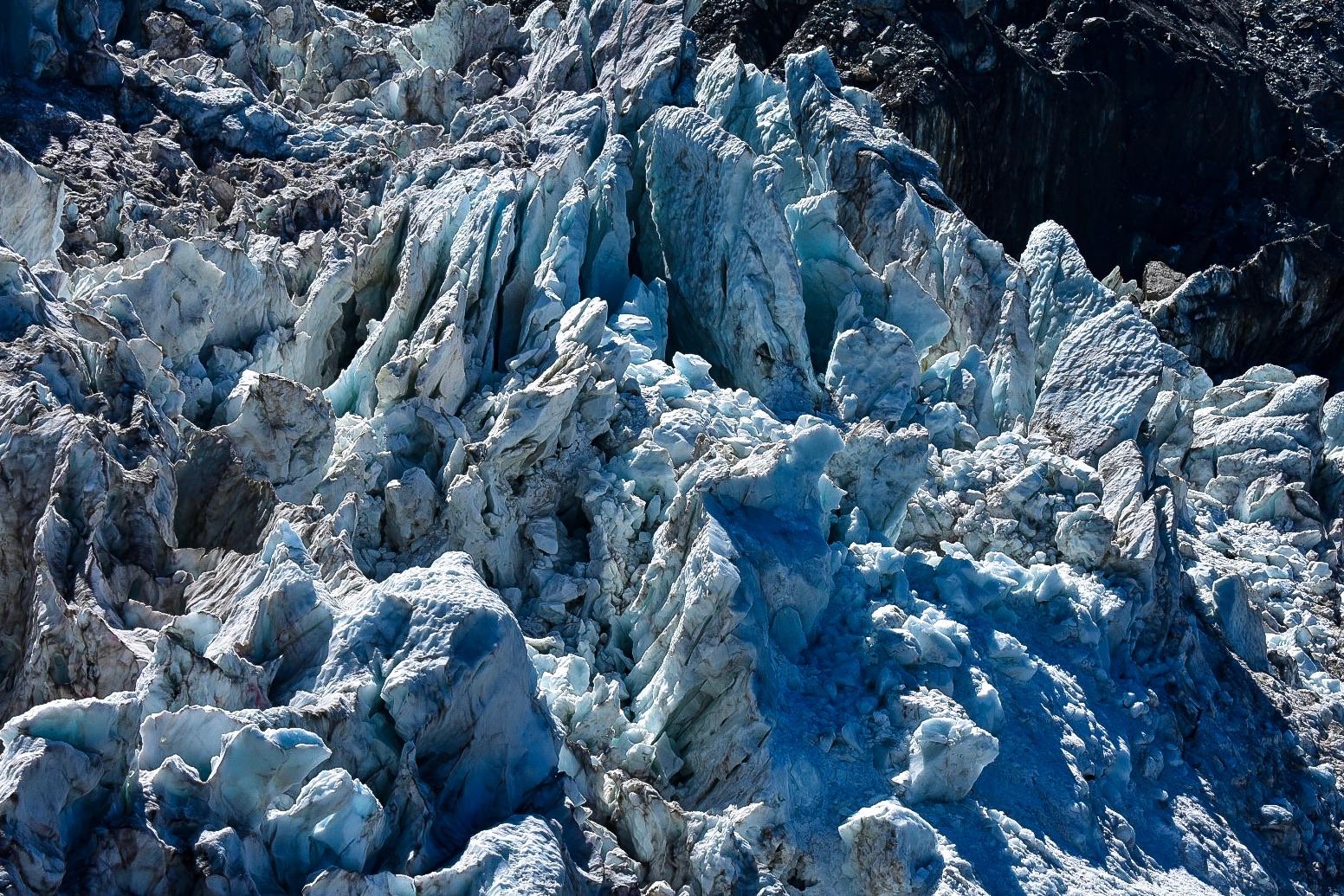 Randonnée sur La Jonction dans le massif du Mont Blanc