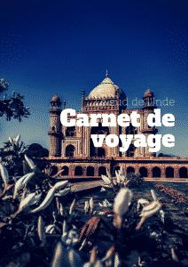 exemple de carnet de voyage en inde