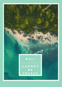 exemple de carnet de voyage bali