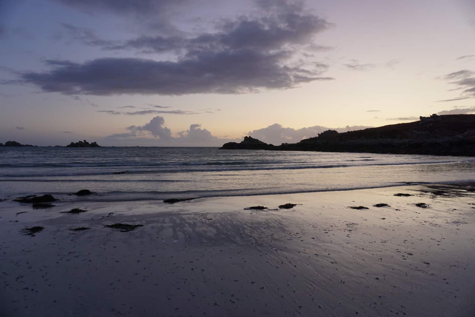 pointe bretonne panorama plage