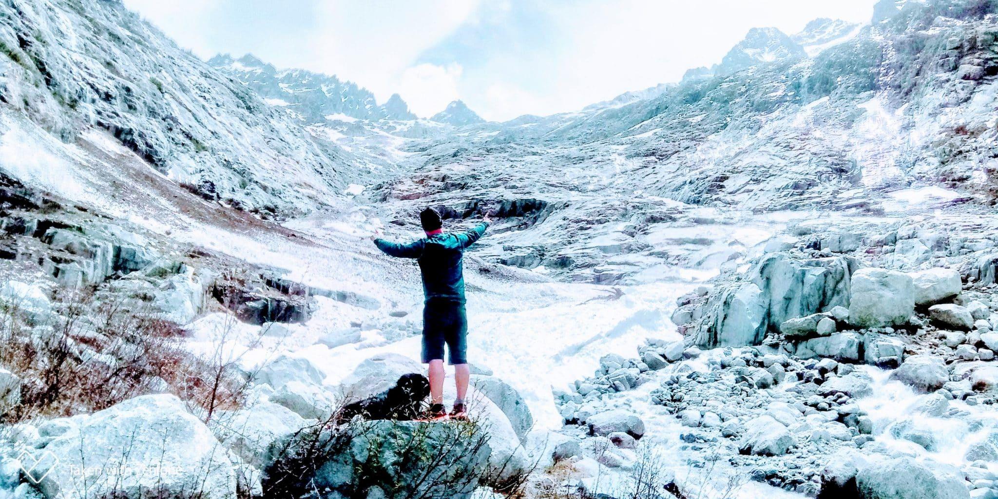 Randonnée vers le Glacier du Trient – Massif du Mont Blanc, Suisse