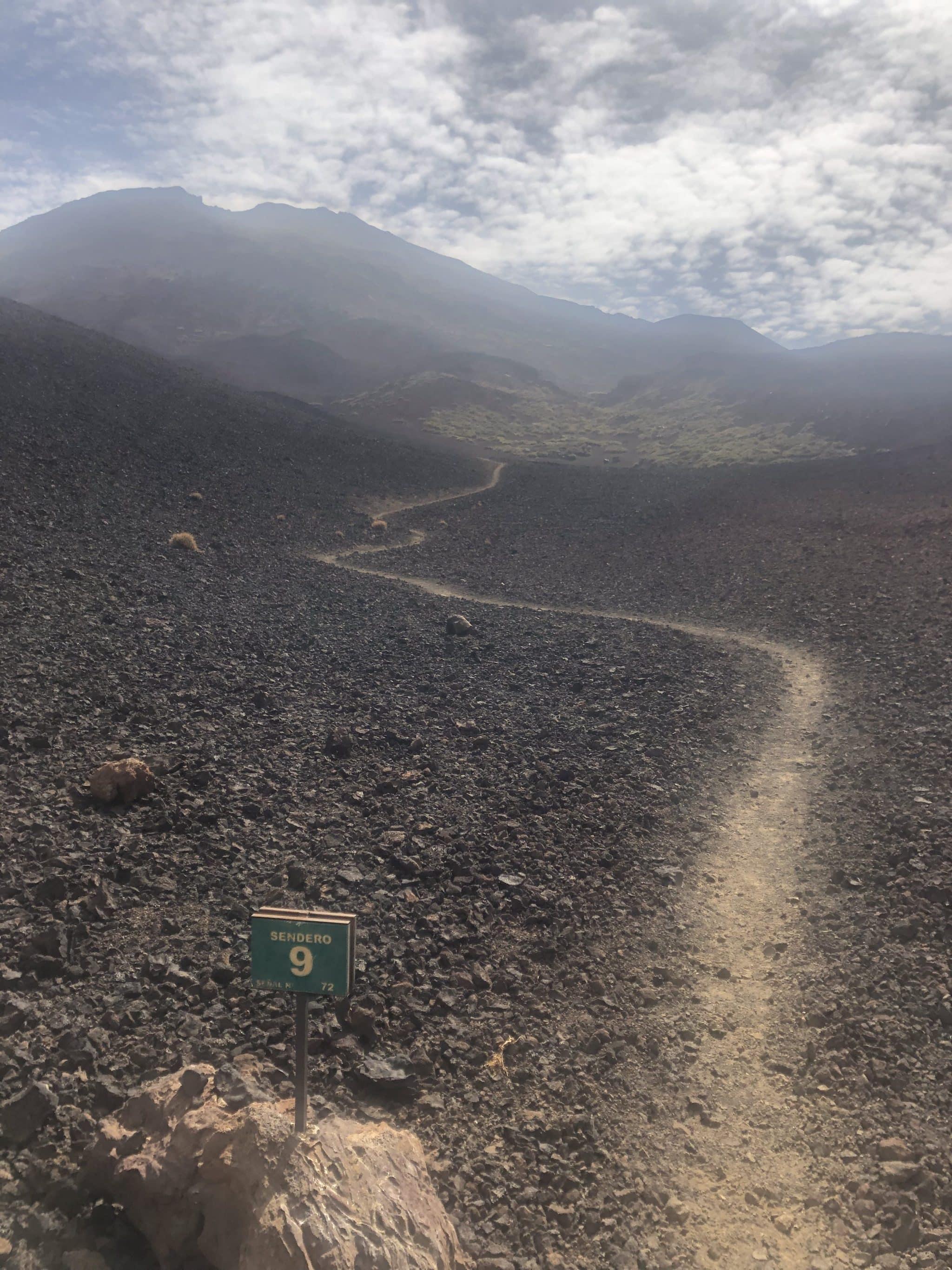 Sentier 9 parc national du teide