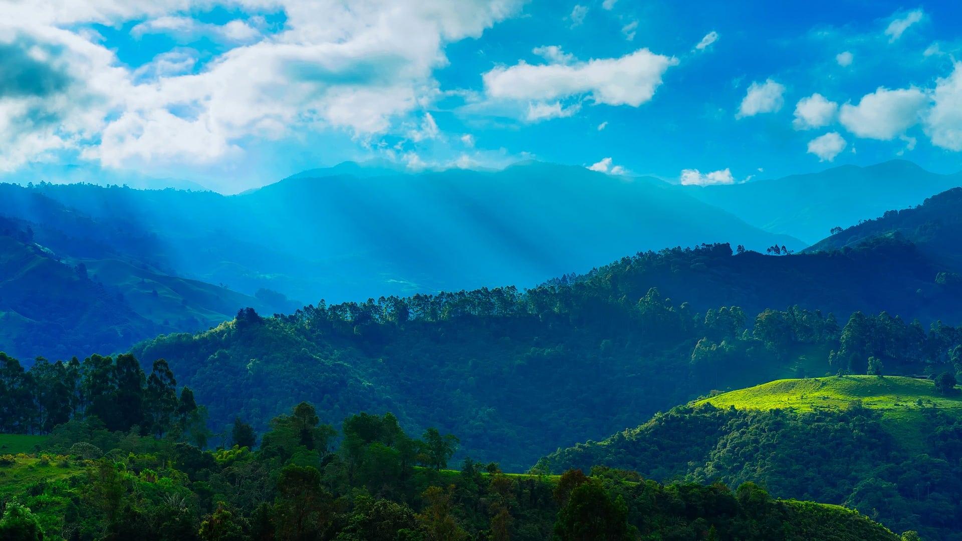 tourisme vert en Colombie montagnes