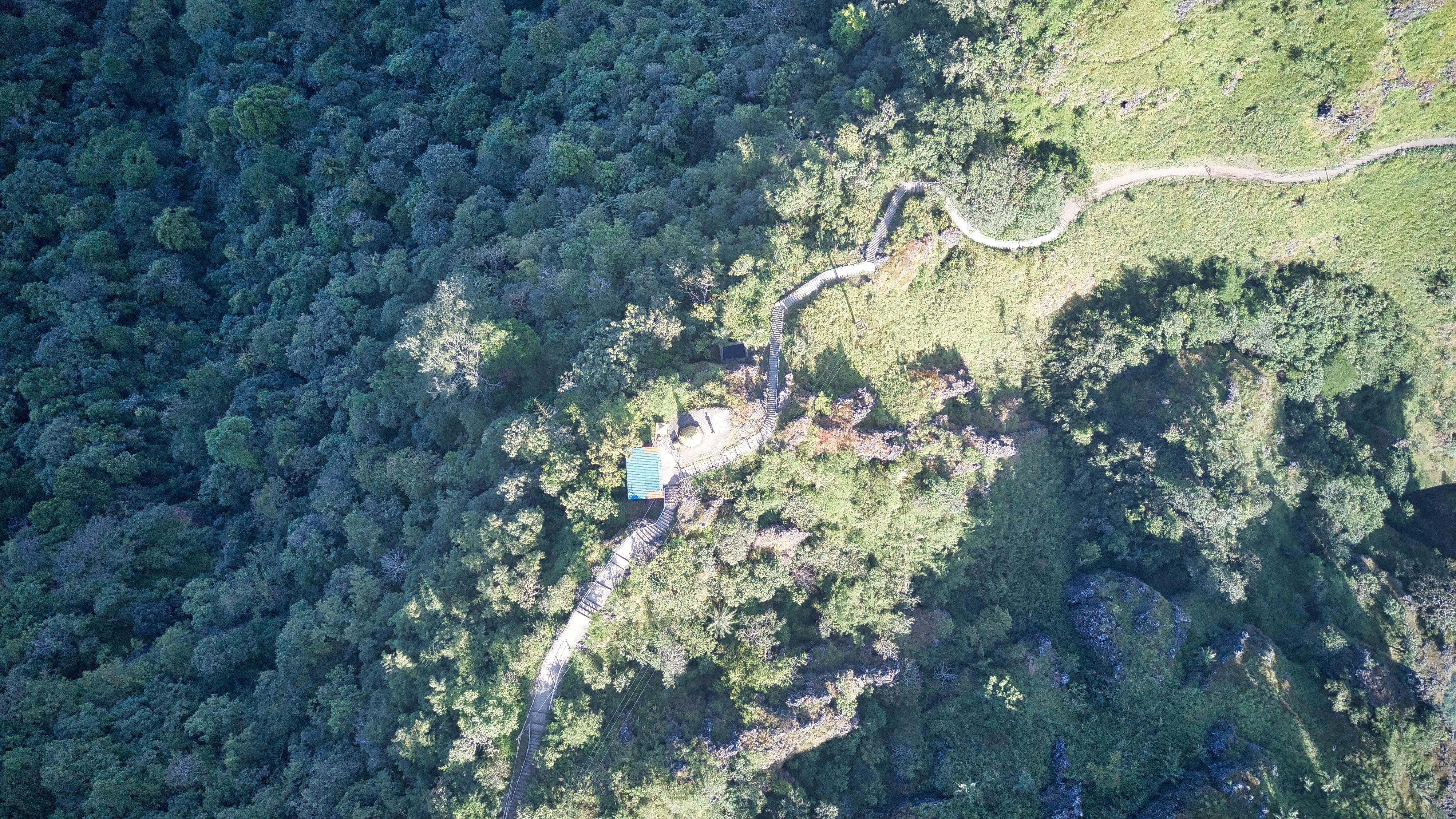 vue drone mont Zwegabin