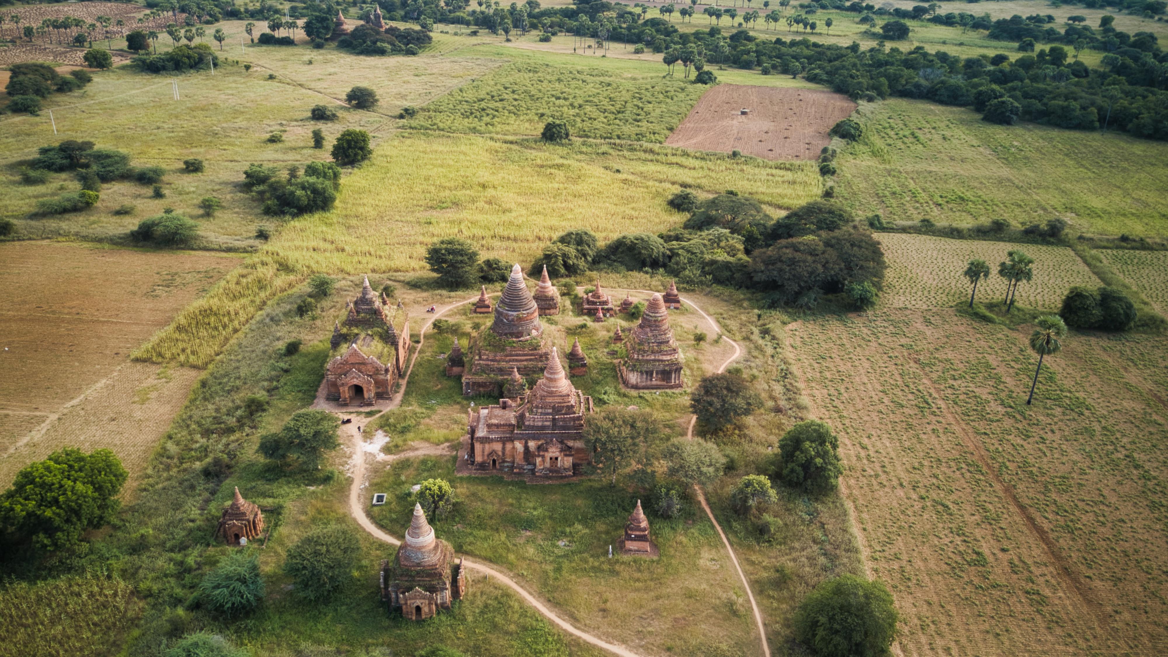 panorama bagan itinéraire birmanie