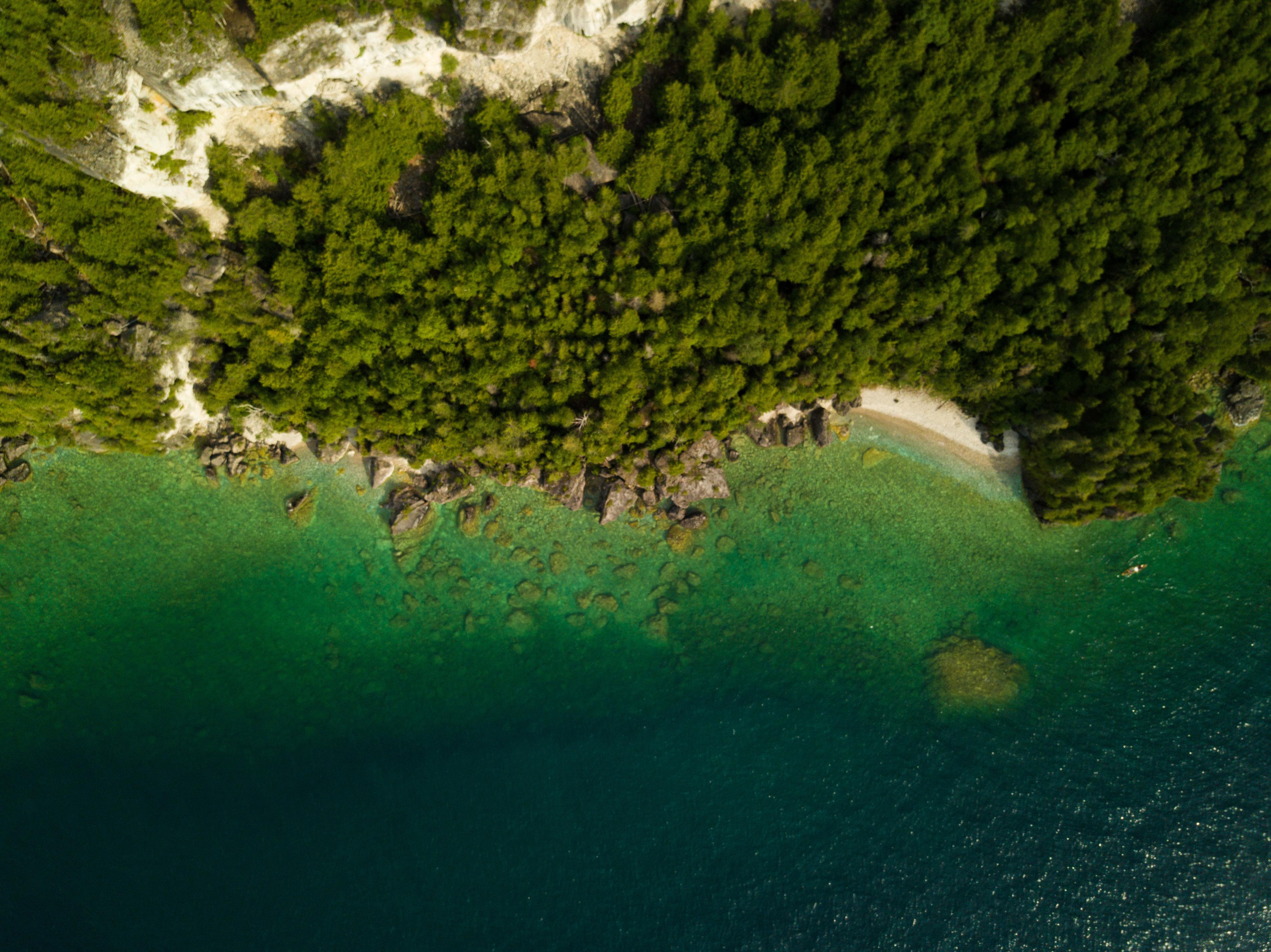vue drone péninsule de bruce