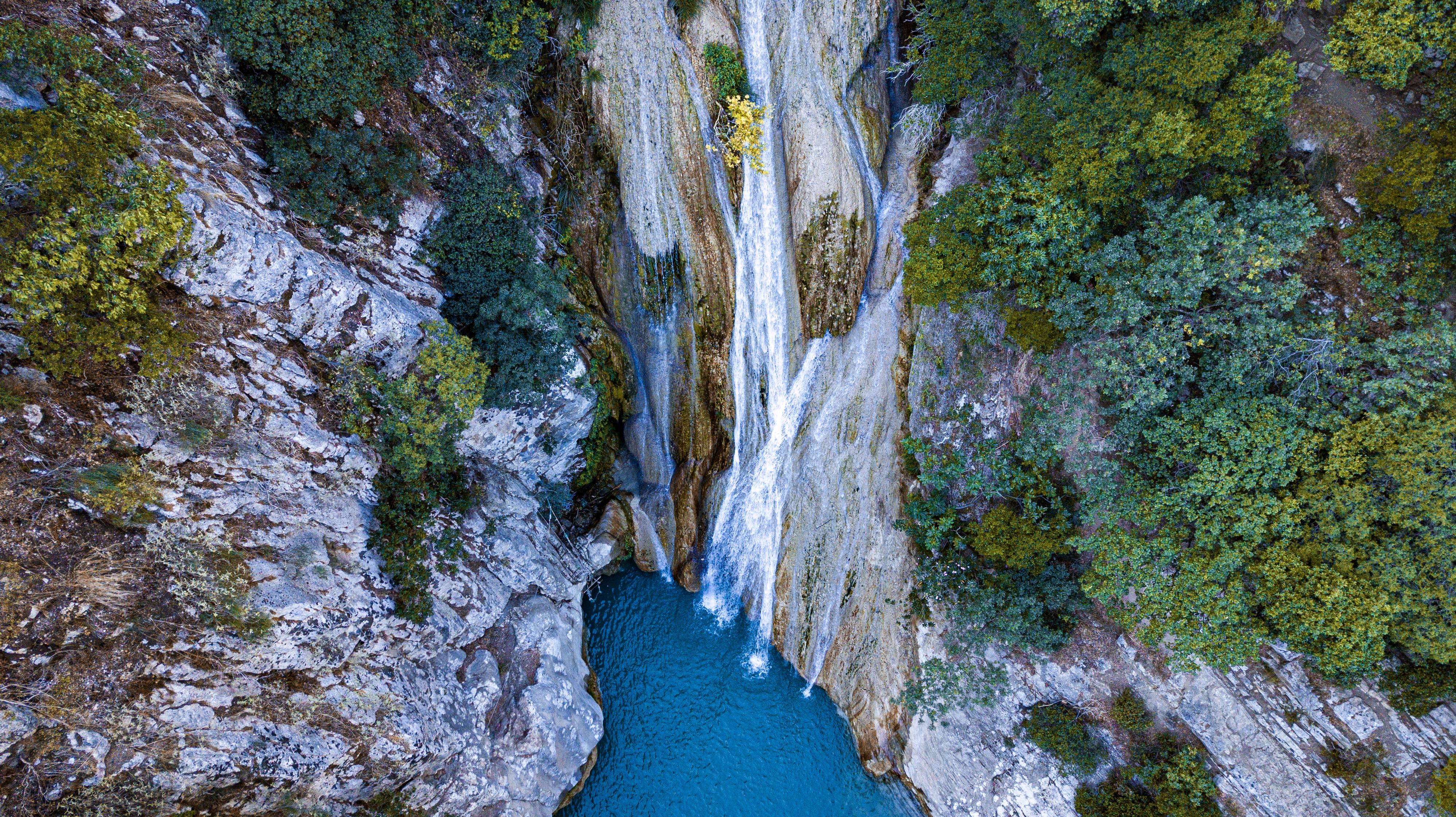 Les cascades de Polilimnio