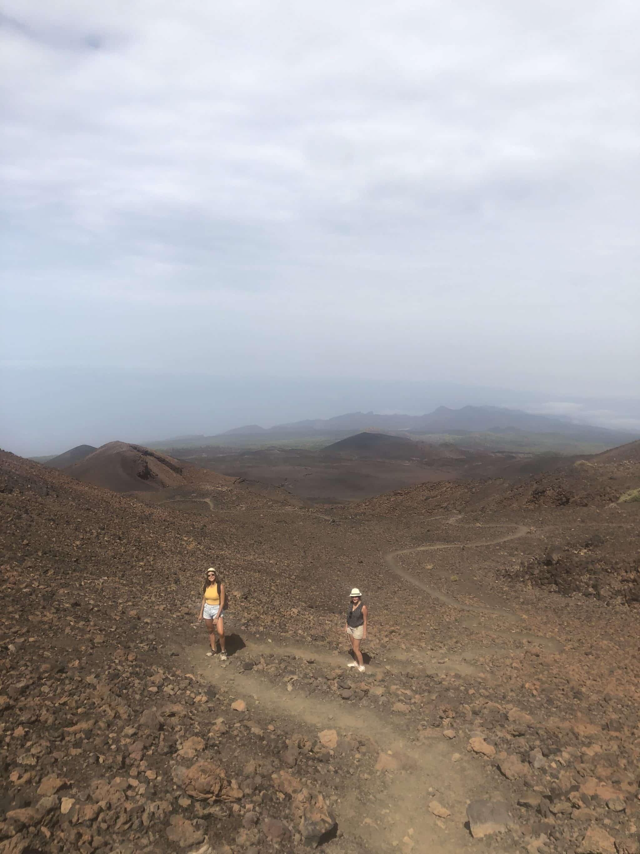 Ascension du pico Viejos