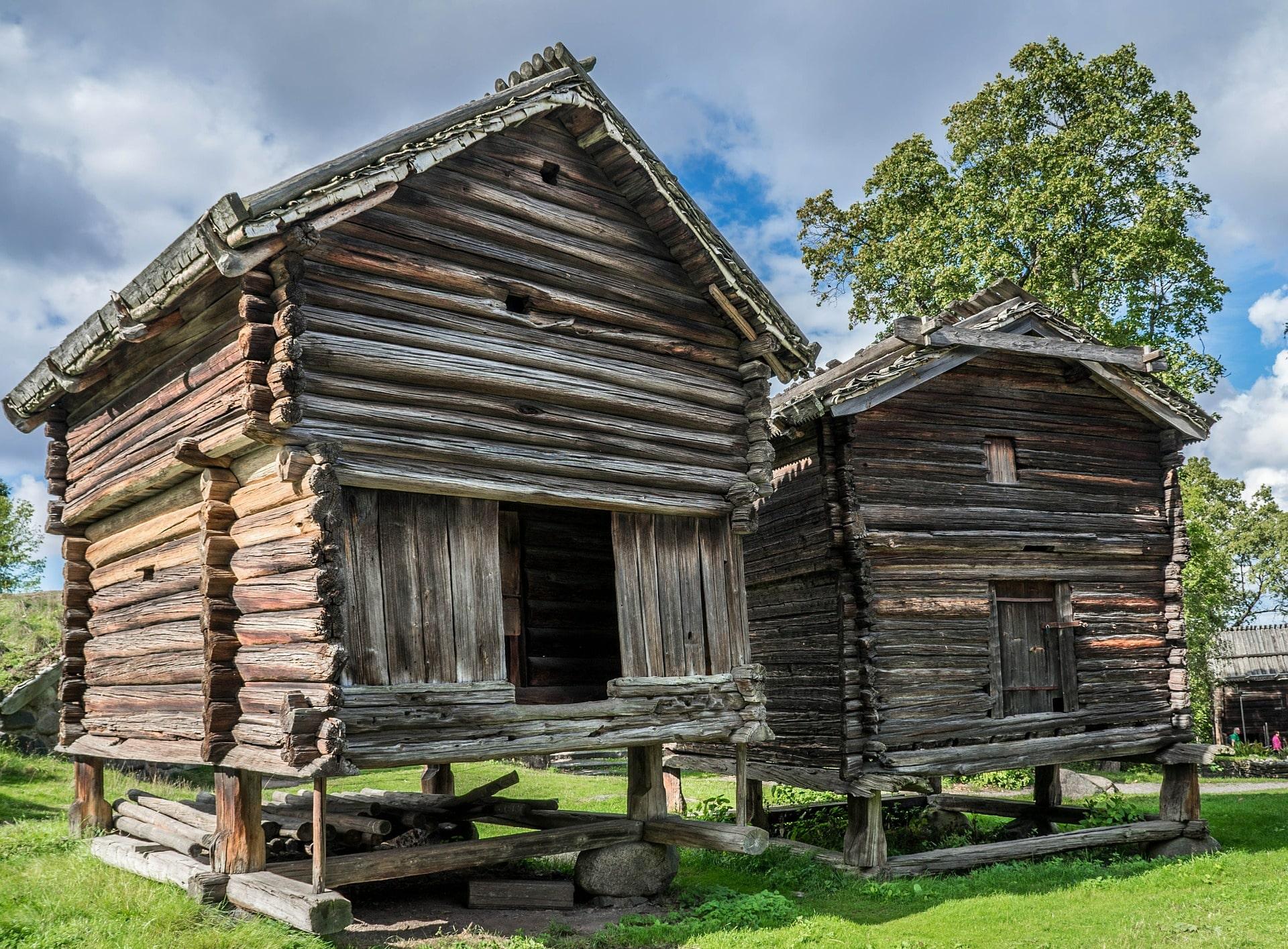 maison cabane ecologique suede