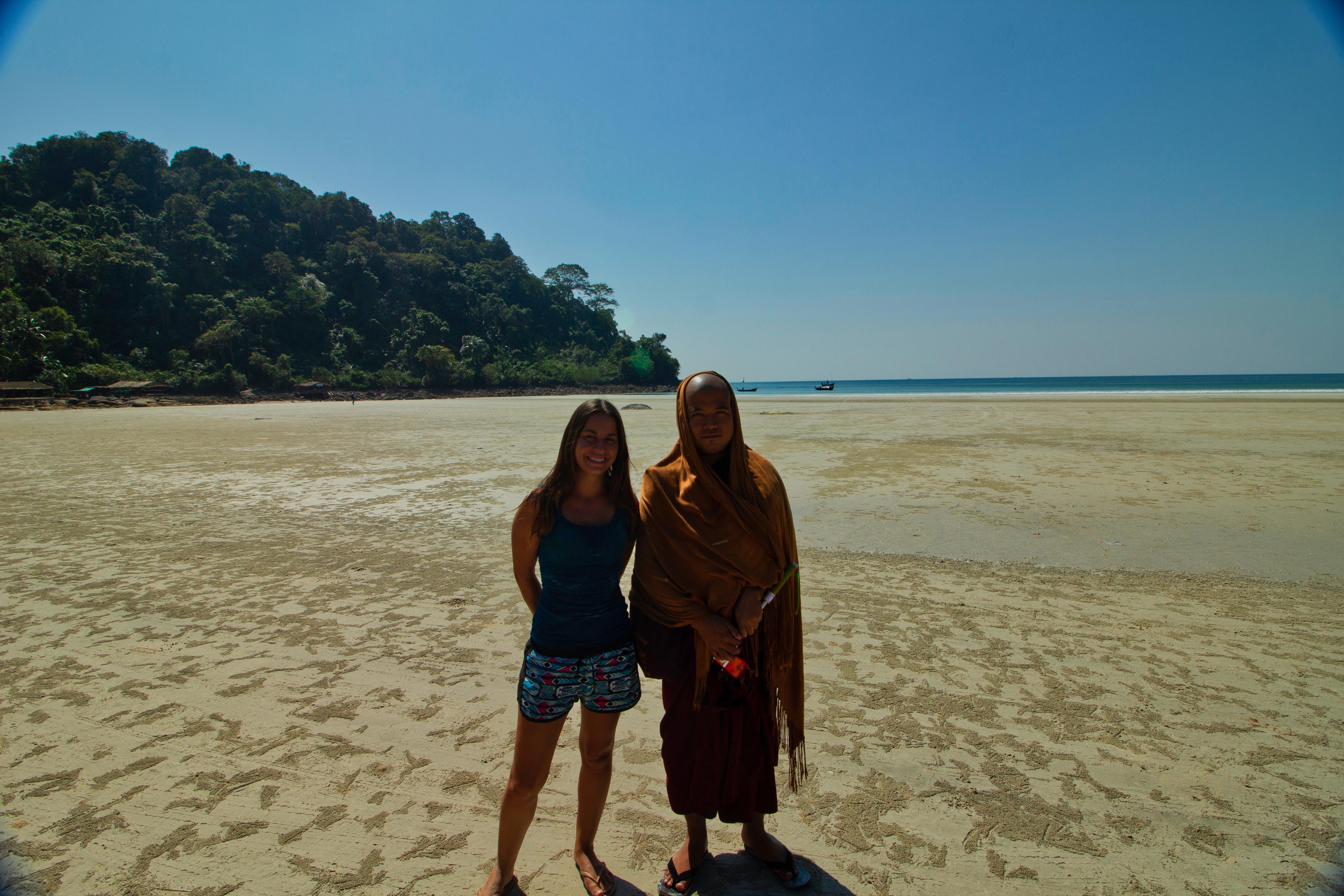 rencontre birmanie plage