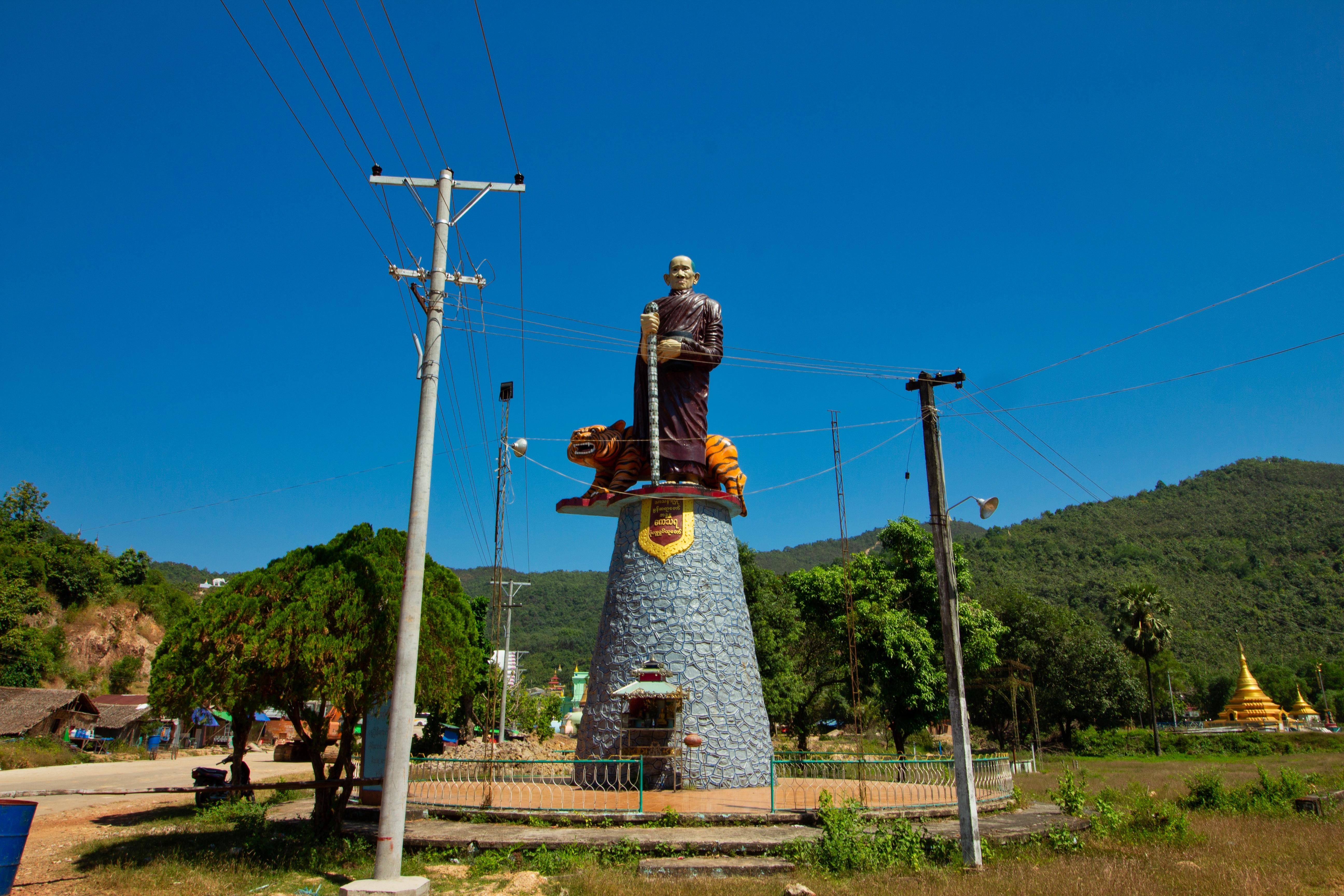 statue bouddha birmanie moulmein