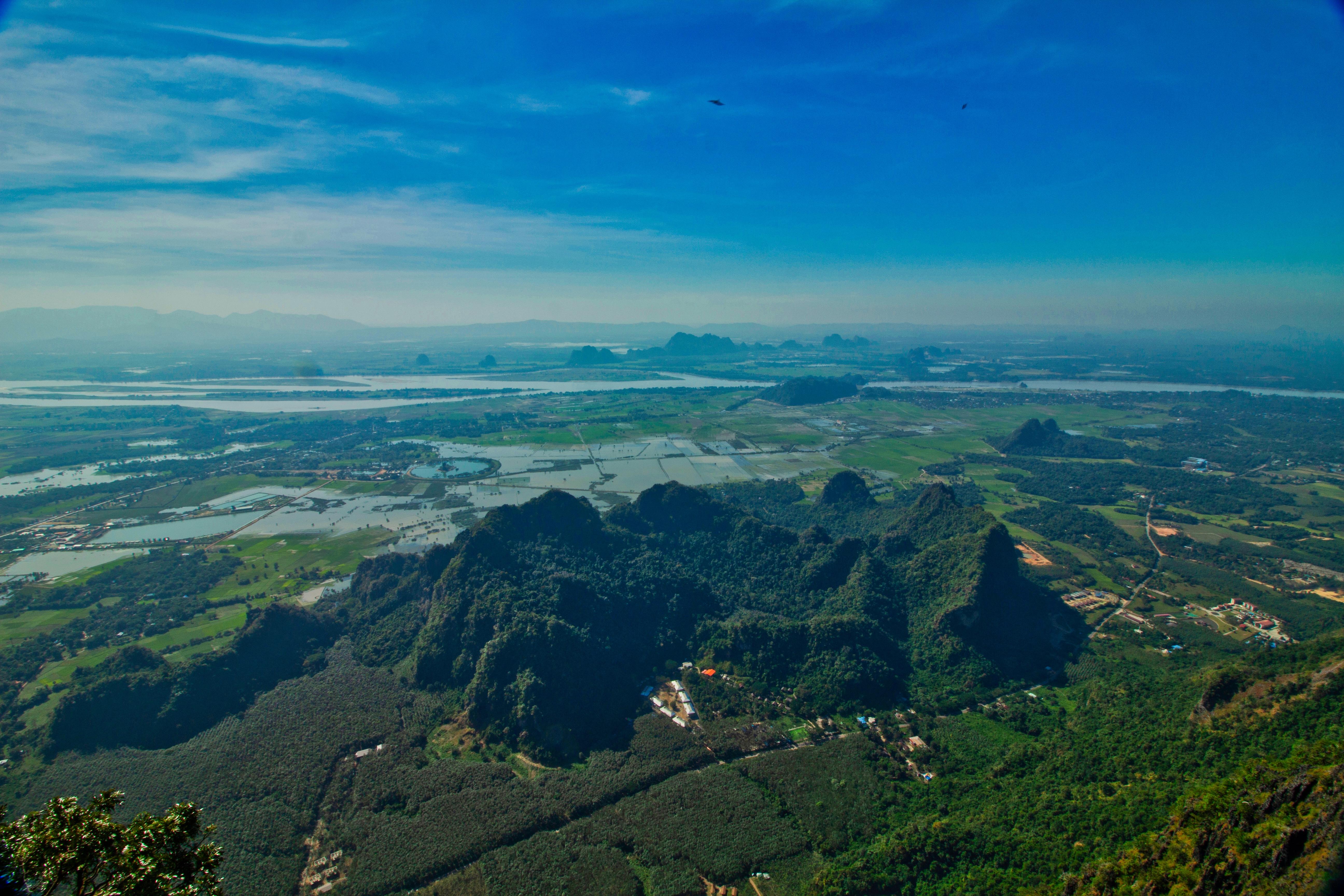 Panorama mont Zwegabin birmanie voyage