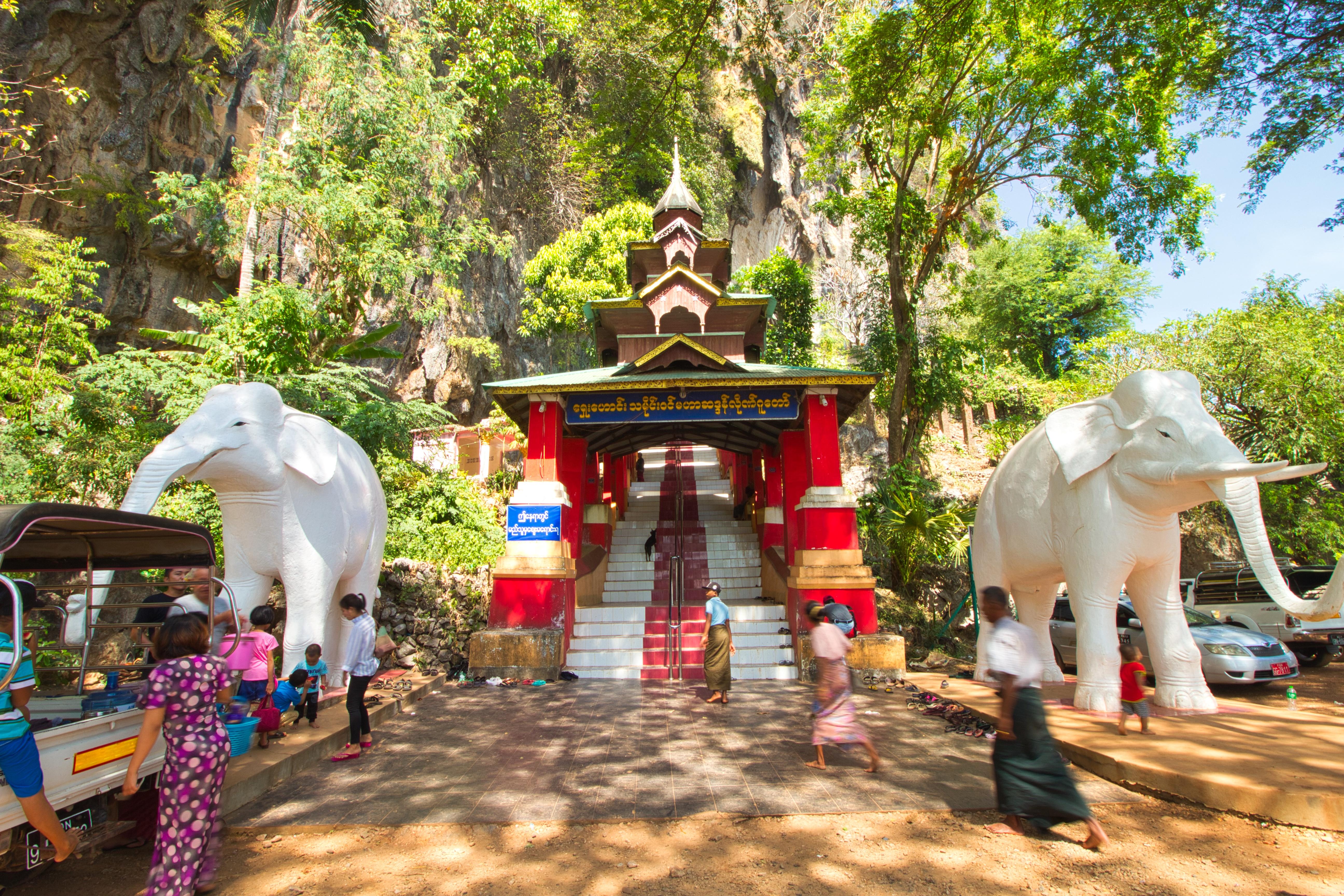 temple hpa-an birmanie voyage