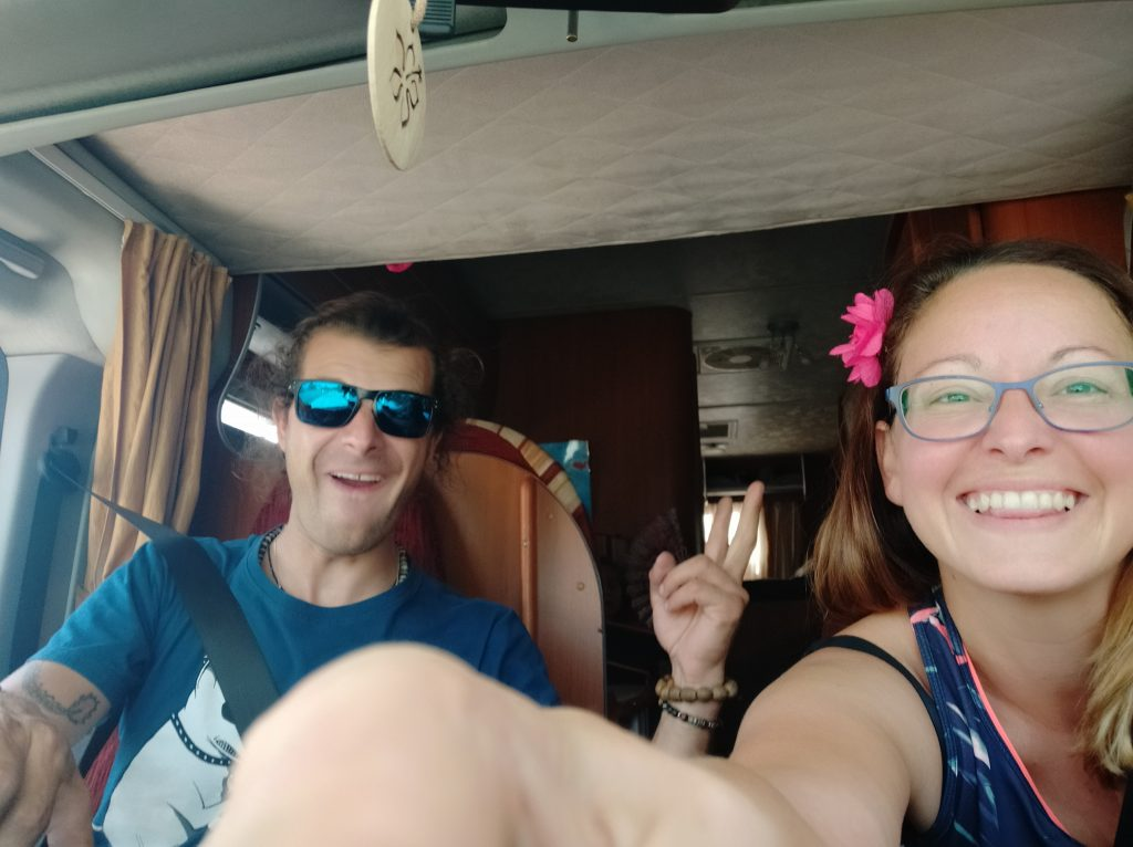 famille camping car