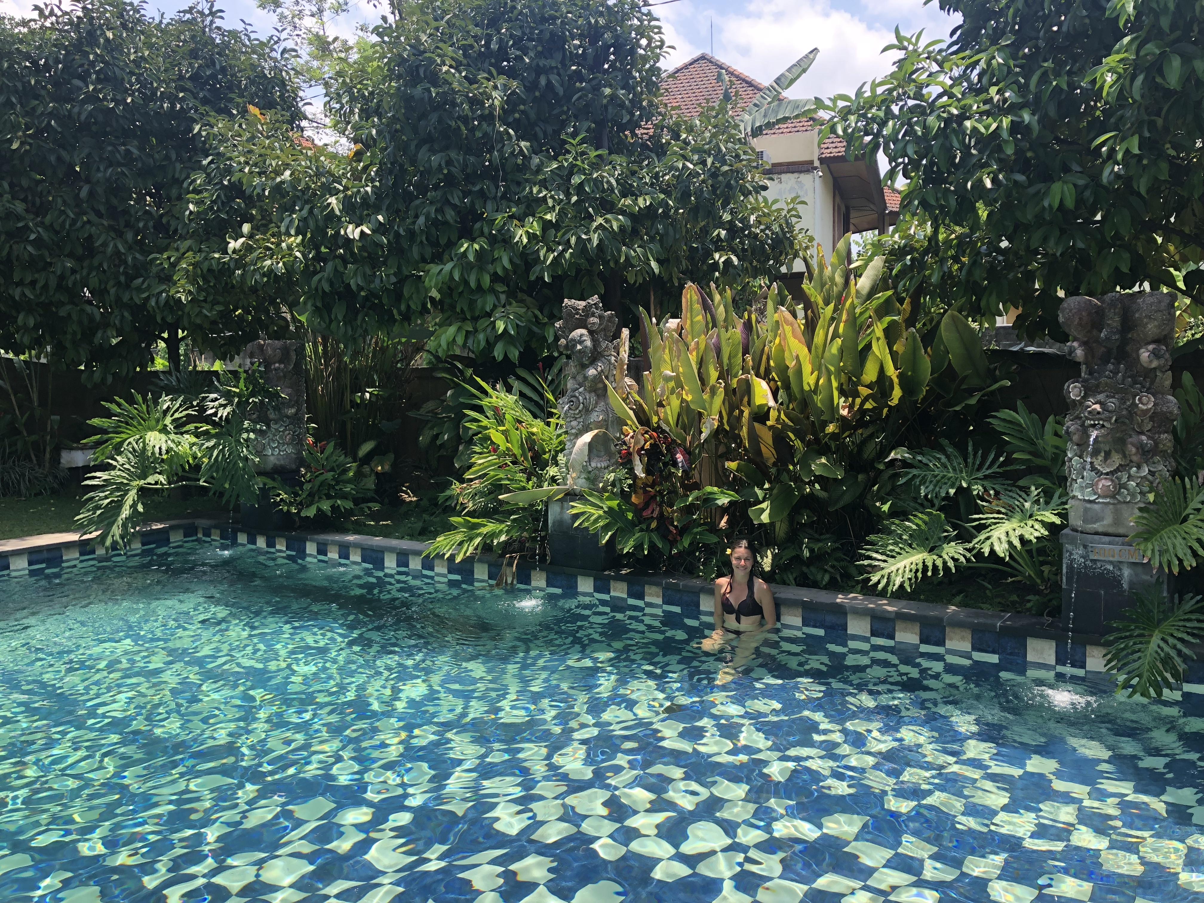 piscine hotel indonesie bali