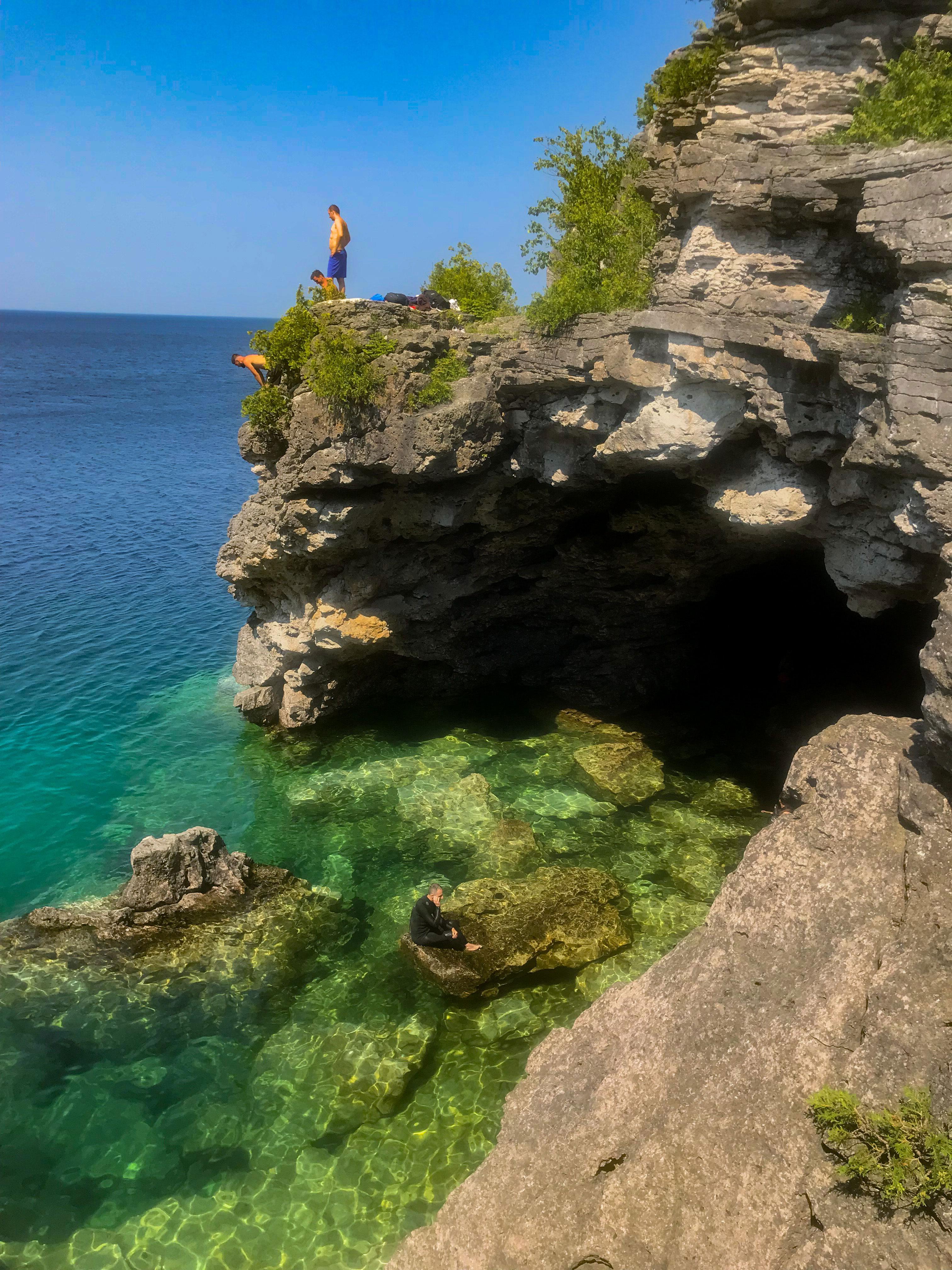 grotto océan