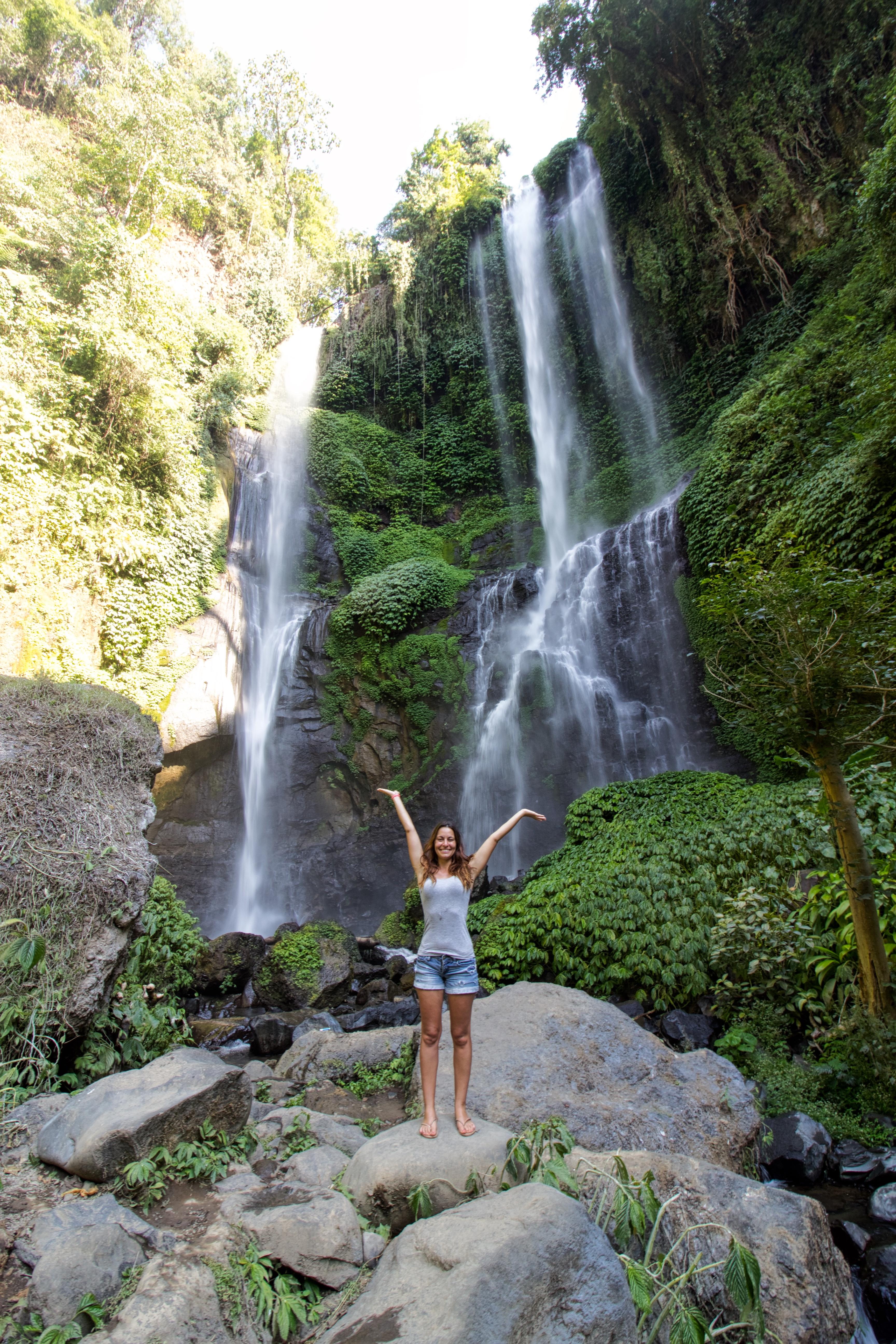 cascades montagne indonesie